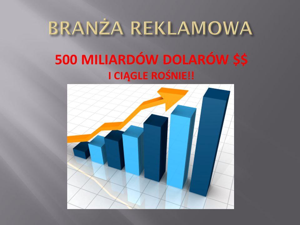 500 MILIARDÓW DOLARÓW $$ I CIĄGLE ROŚNIE!!