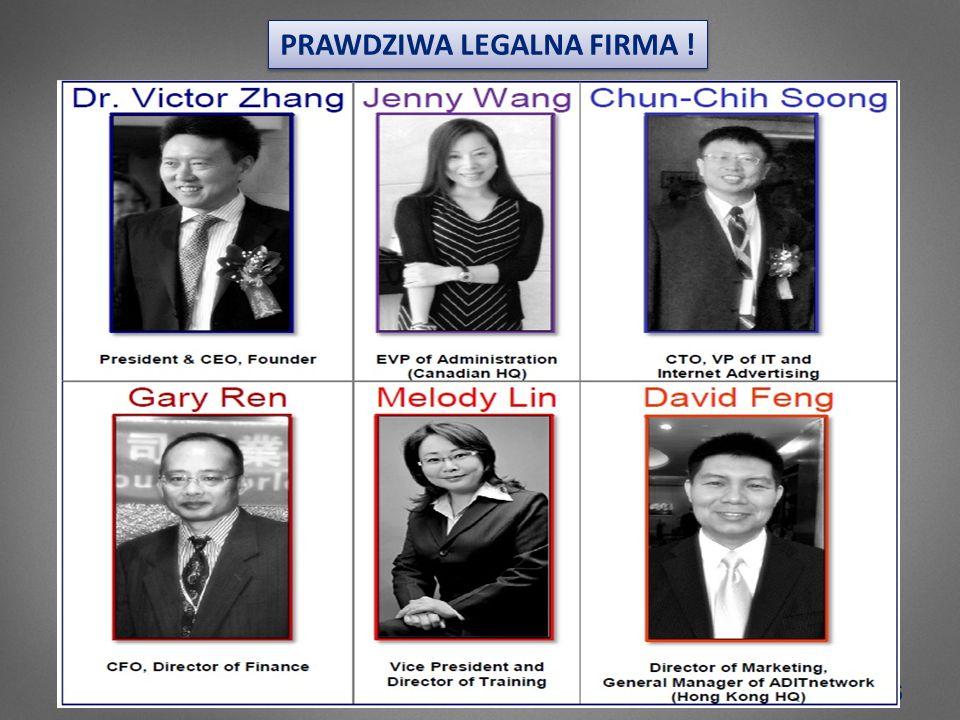 6 PRAWDZIWA LEGALNA FIRMA !