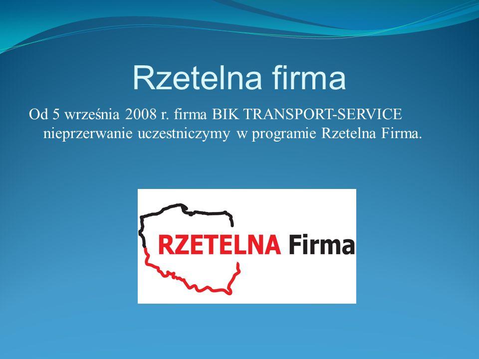 Rzetelna firma Od 5 września 2008 r.