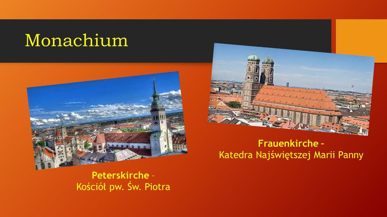 Monachium jest trzecim pod względem wielkości miastem Niemiec i bez wątpienia najbardziej urokliwym, najprzytulniejszym, najbezpieczniejszym milionowym miastem na świecie.