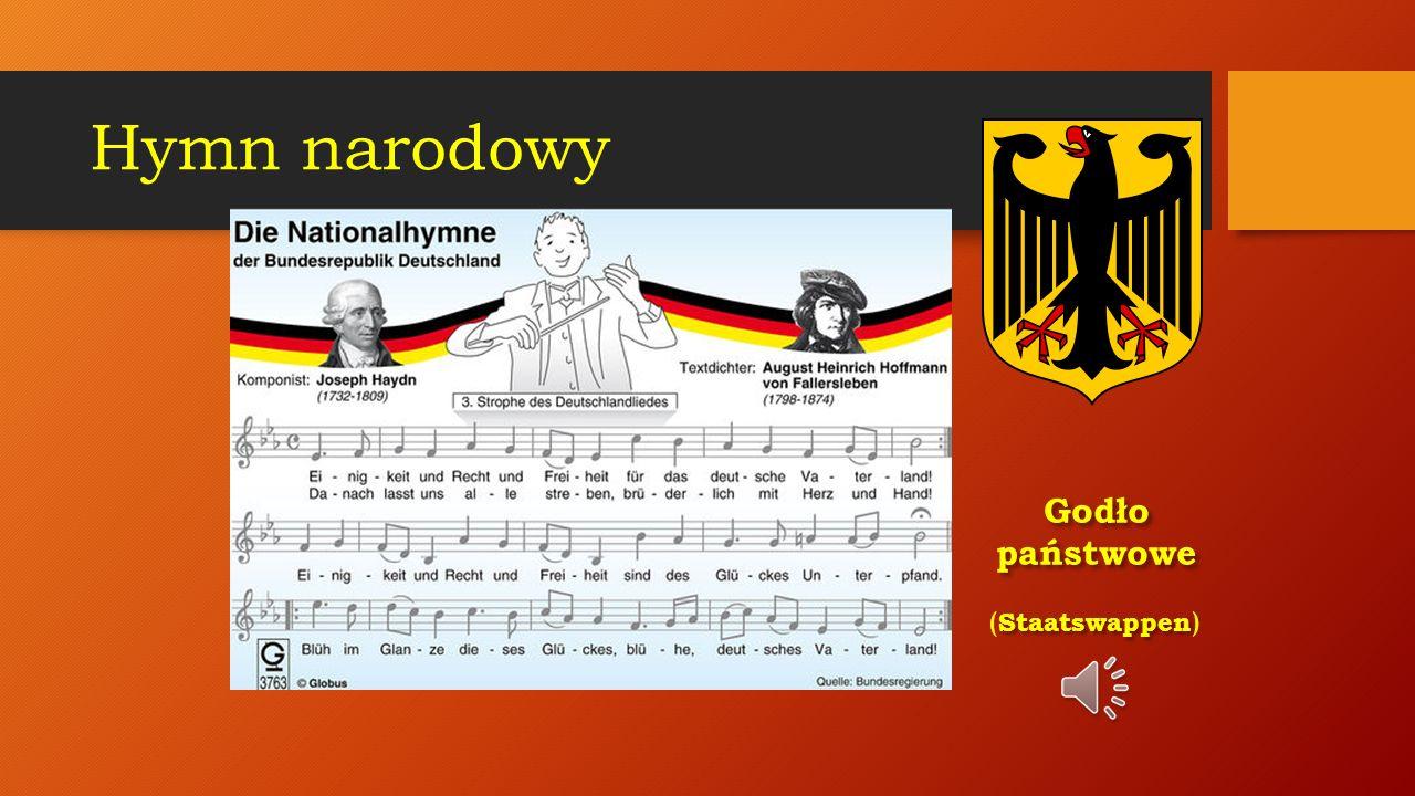 Niemcy (Deutschland) Niemcy (Deutschland) państwo w Europie Środkowej, nad Morzem Bałtyckim i Północnym. Powierzchnia: ok. 357 tys. km 2 Mieszkańcy: 8