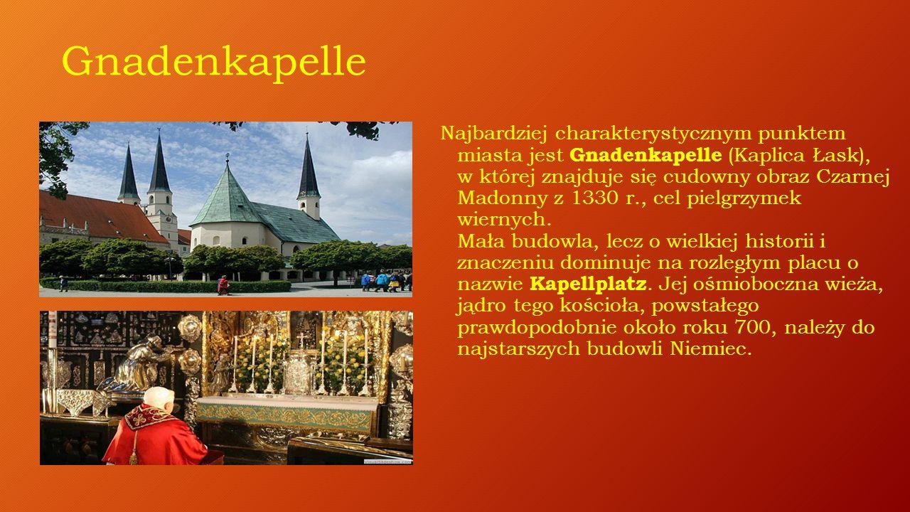 Centrum pielgrzymkowe ALTÖTTING zwane jest Sercem Bawarii z powodu swojej historii i ponad kilkusetletniej tradycji jako miasto pielgrzymkowe.