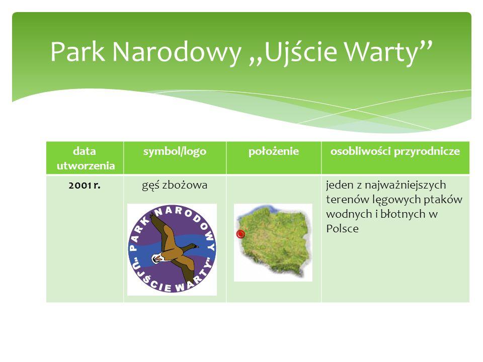 data utworzenia symbol/logopołożenieosobliwości przyrodnicze 2001 r.gęś zbożowajeden z najważniejszych terenów lęgowych ptaków wodnych i błotnych w Po