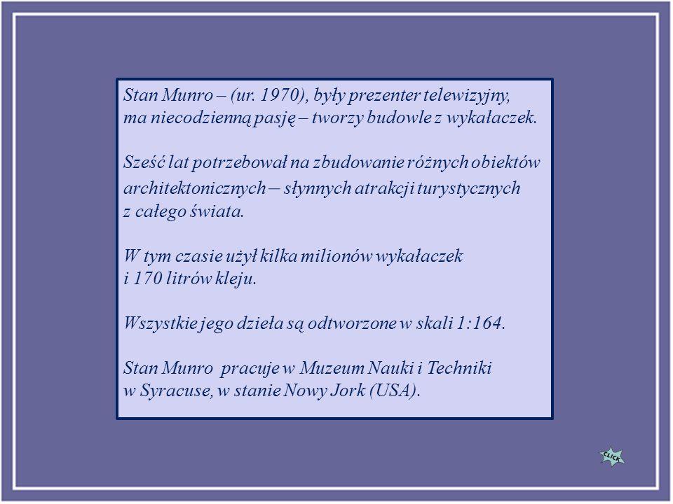 Stan Munro MIASTA Z WYKAŁACZEK
