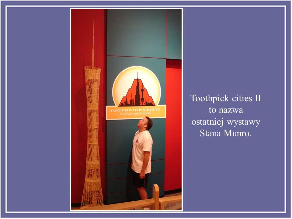 Stan Munro ha pasado los últimos seis años de su vida construyendo una pequeña ciudad de palillos con los edificios y monumentos más emblemáticos del mundo.