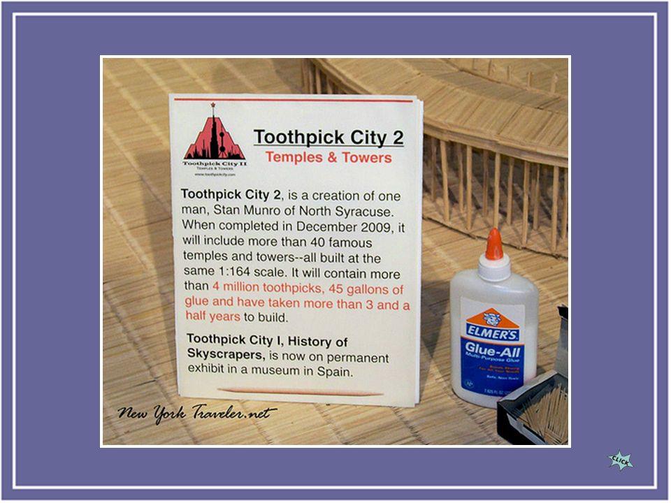 Toothpick cities II to nazwa ostatniej wystawy Stana Munro.