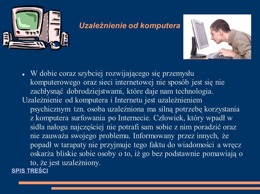Przykłady gier komputerowych: SPIS TREŚCSPIS TREŚCI
