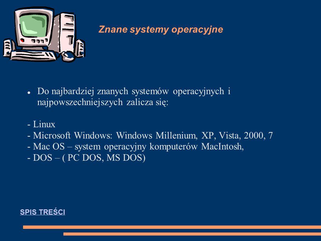 Systemy operacyjne System operacyjny (ang.