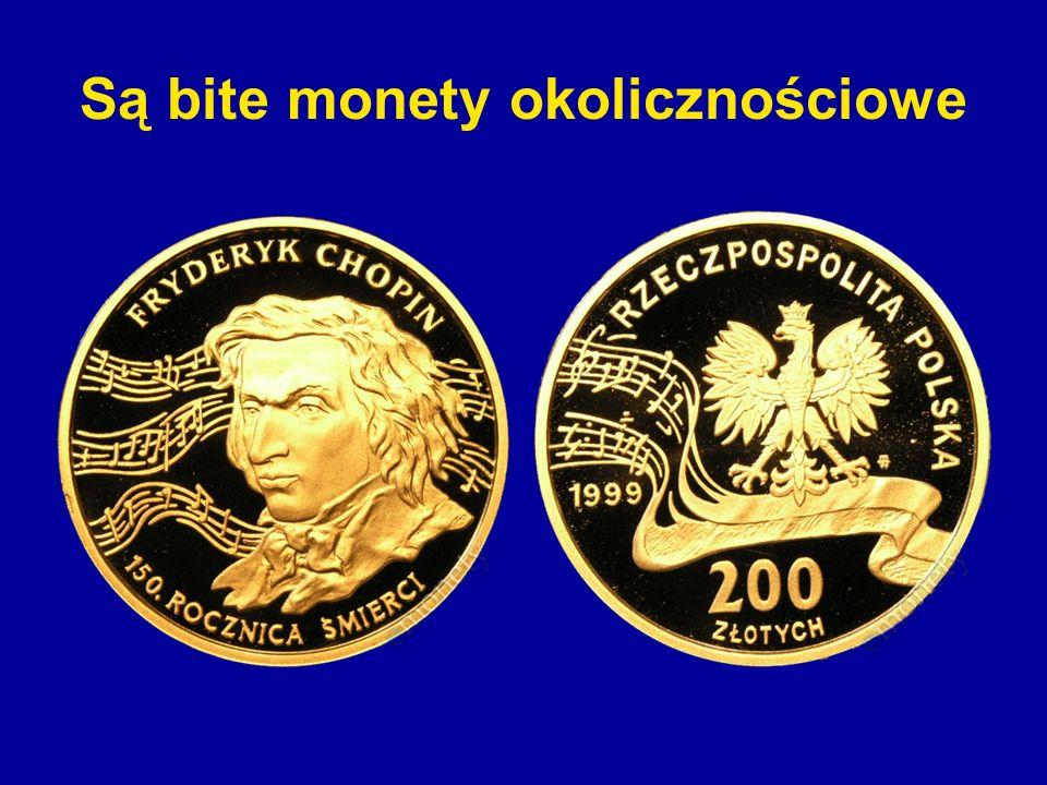 Są bite monety okolicznościowe