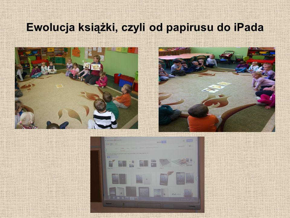 Ewolucja książki, czyli od papirusu do iPada