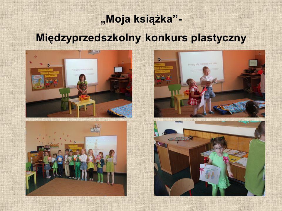 """"""" Moja książka""""- Międzyprzedszkolny konkurs plastyczny"""