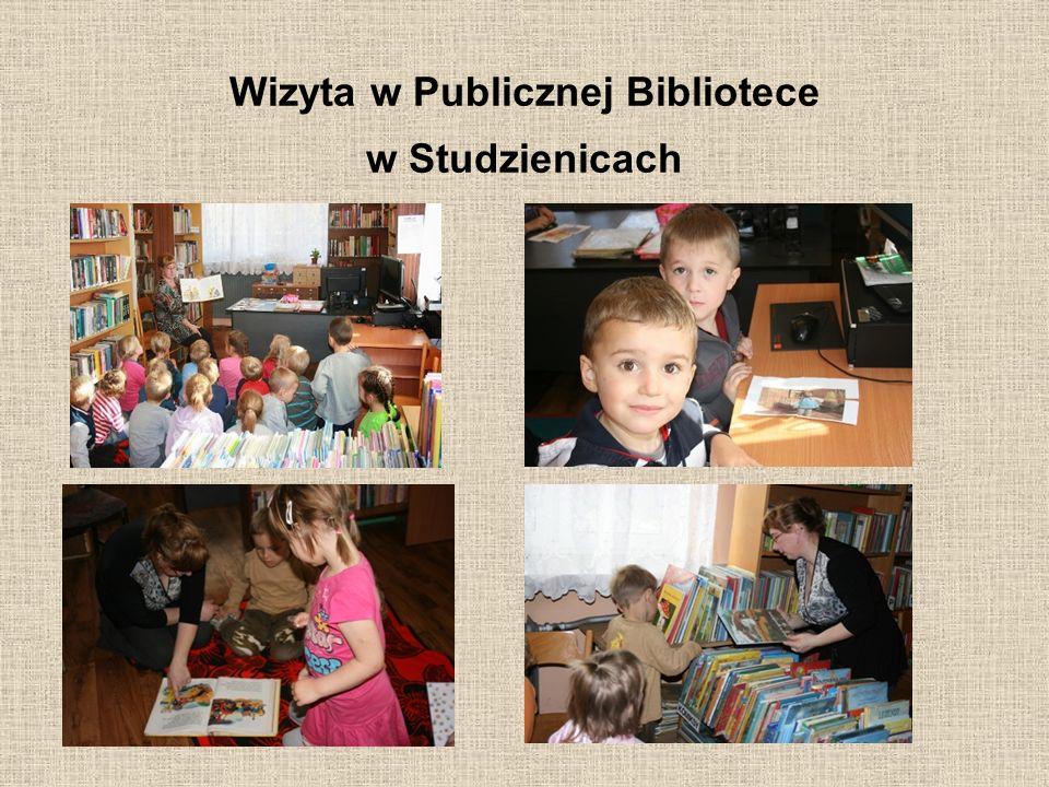 Wizyta w Publicznej Bibliotece w Studzienicach
