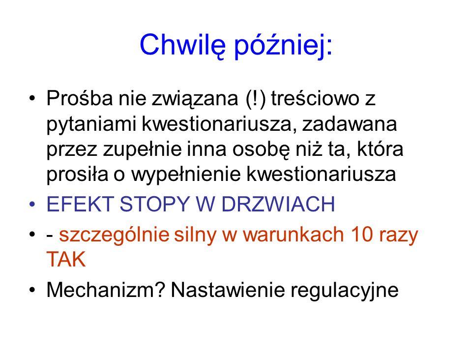 """Badania własne Prośba o wrzucenie listu """"bo chciał(a)bym, aby był nadany z Wrocławia, aby miał pieczątkę wrocławskiej poczty na kopercie ."""