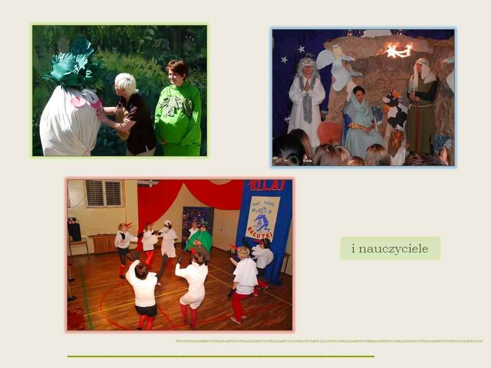 Organizujemy liczne imprezy Ślubowanie uczniów klas I Dzień Rodzica Dzień Patrona