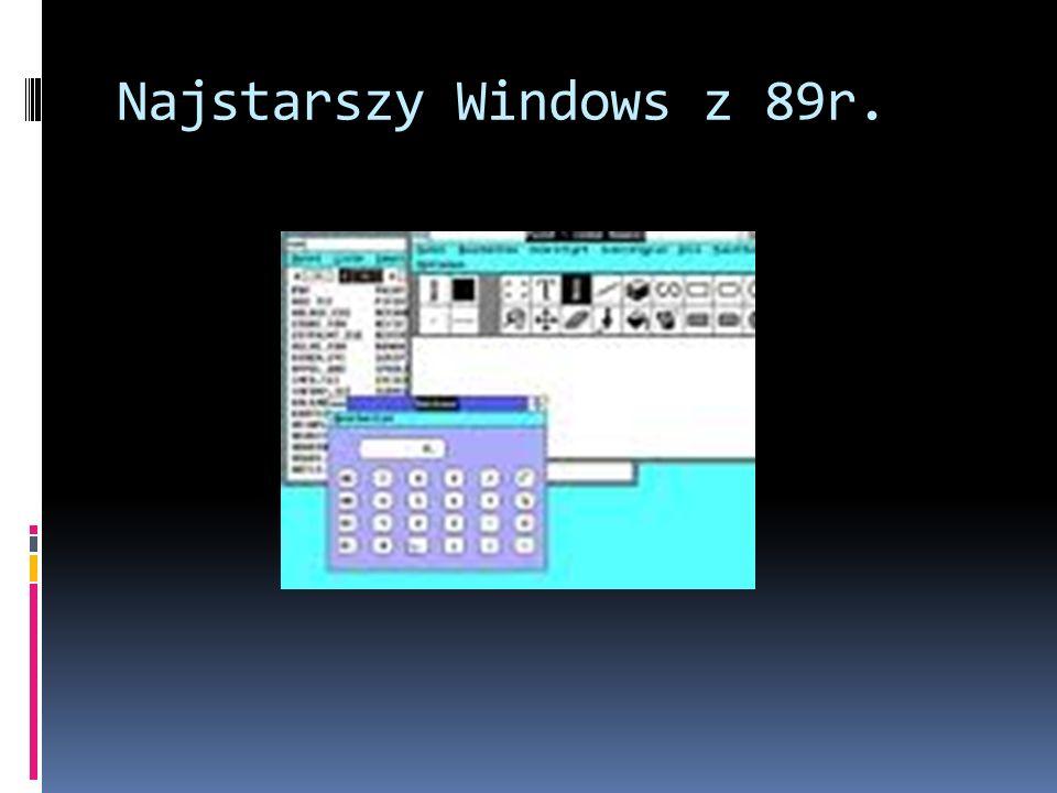 Najstarszy Windows z 89r.