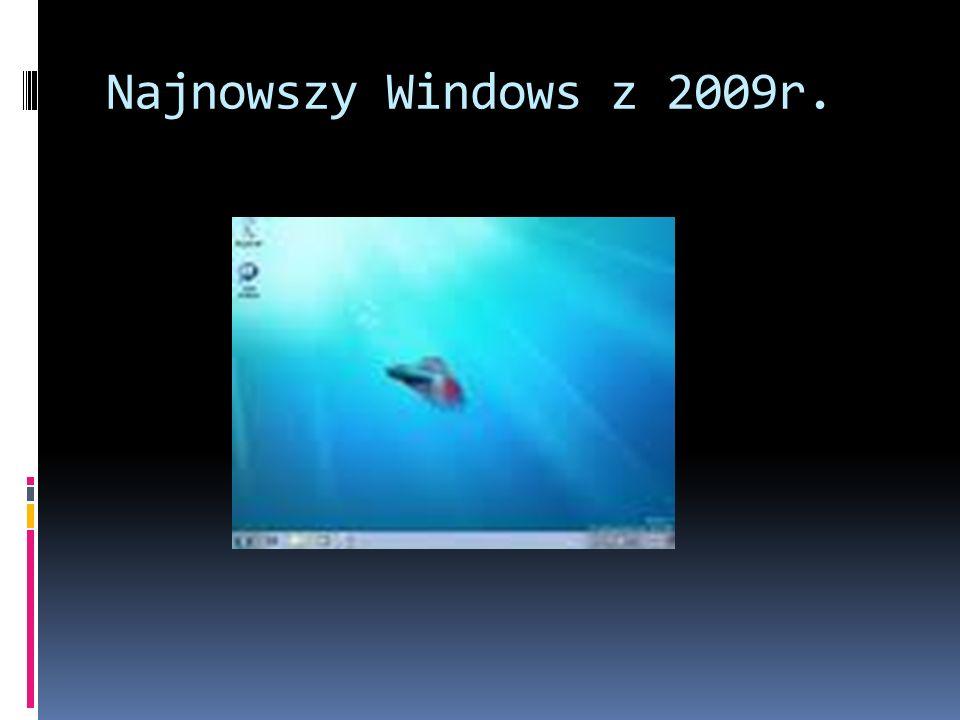 Najnowszy Windows z 2009r.