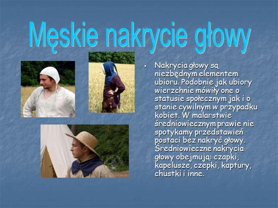  Nakrycia głowy są niezbędnym elementem ubioru.