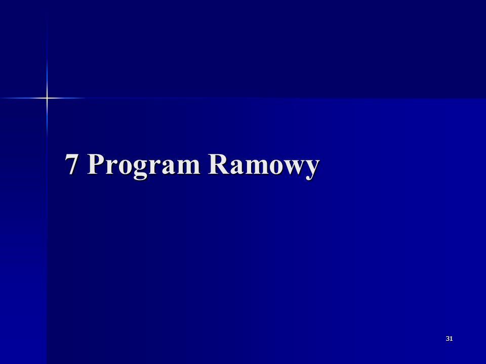 31 7 Program Ramowy