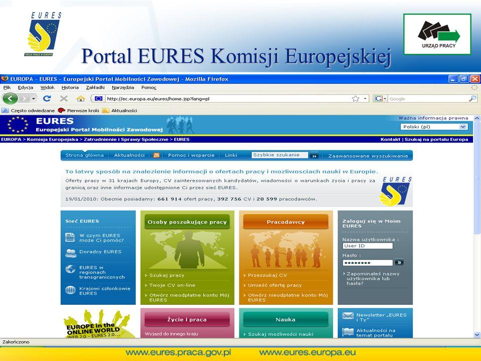 Portal EURES Komisji Europejskiej