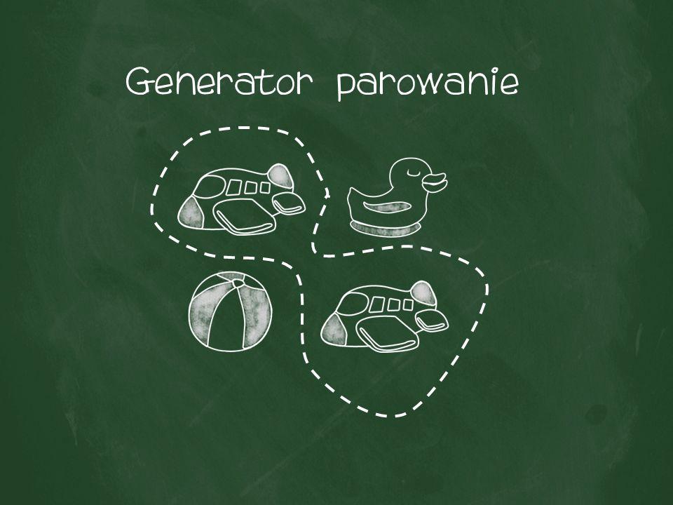 Generator parowanie