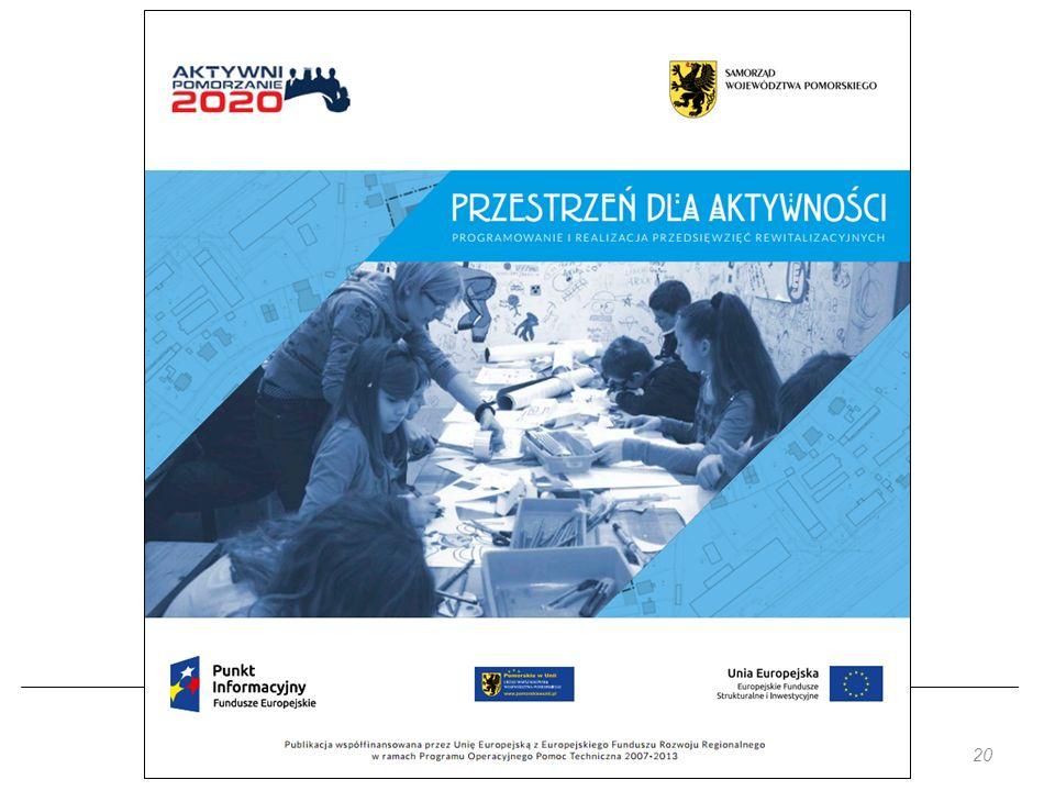 Projekt jest współfinansowany przez Unię Europejską z Funduszu Spójności w ramach Programu Operacyjnego Pomoc Techniczna 2014-2020 20