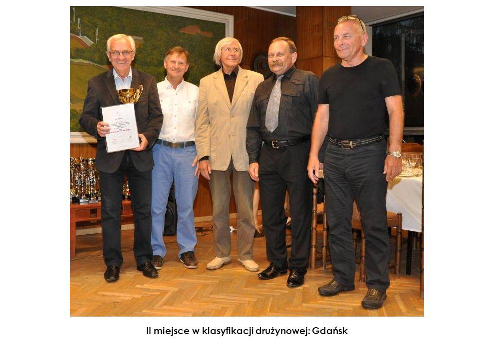 II miejsce w klasyfikacji drużynowej: Gdańsk