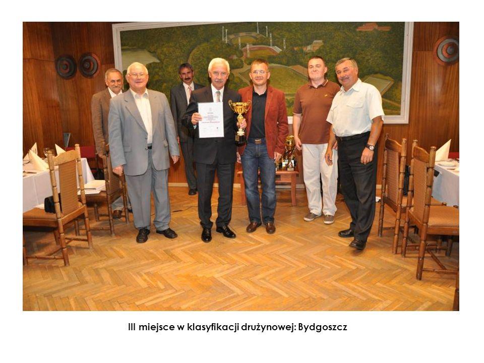 III miejsce w klasyfikacji drużynowej: Bydgoszcz