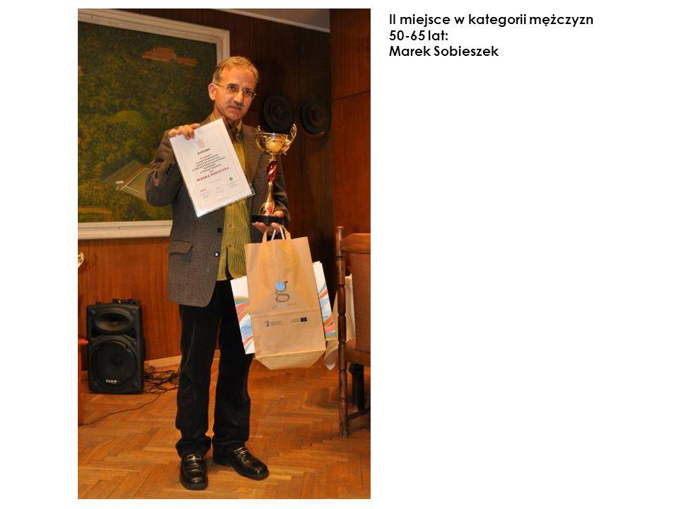 II miejsce w kategorii mężczyzn 50-65 lat: Marek Sobieszek