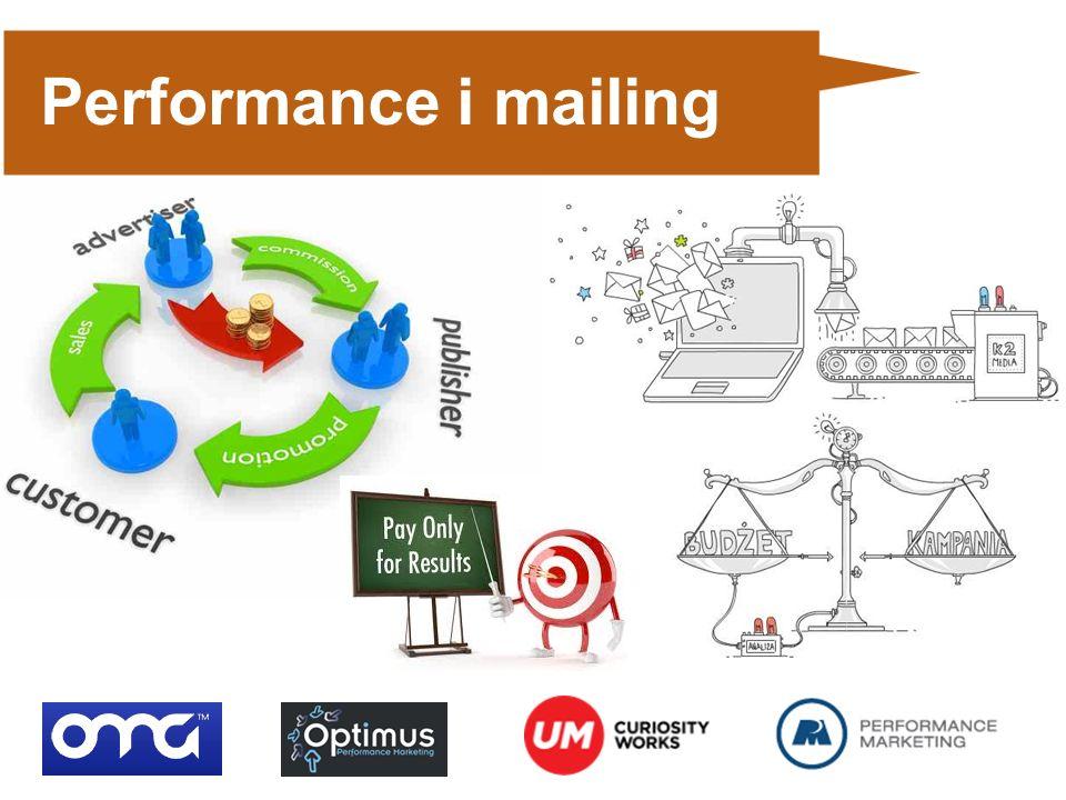 Performance i mailing Bazy maillingowe: 100.000.000 adresów