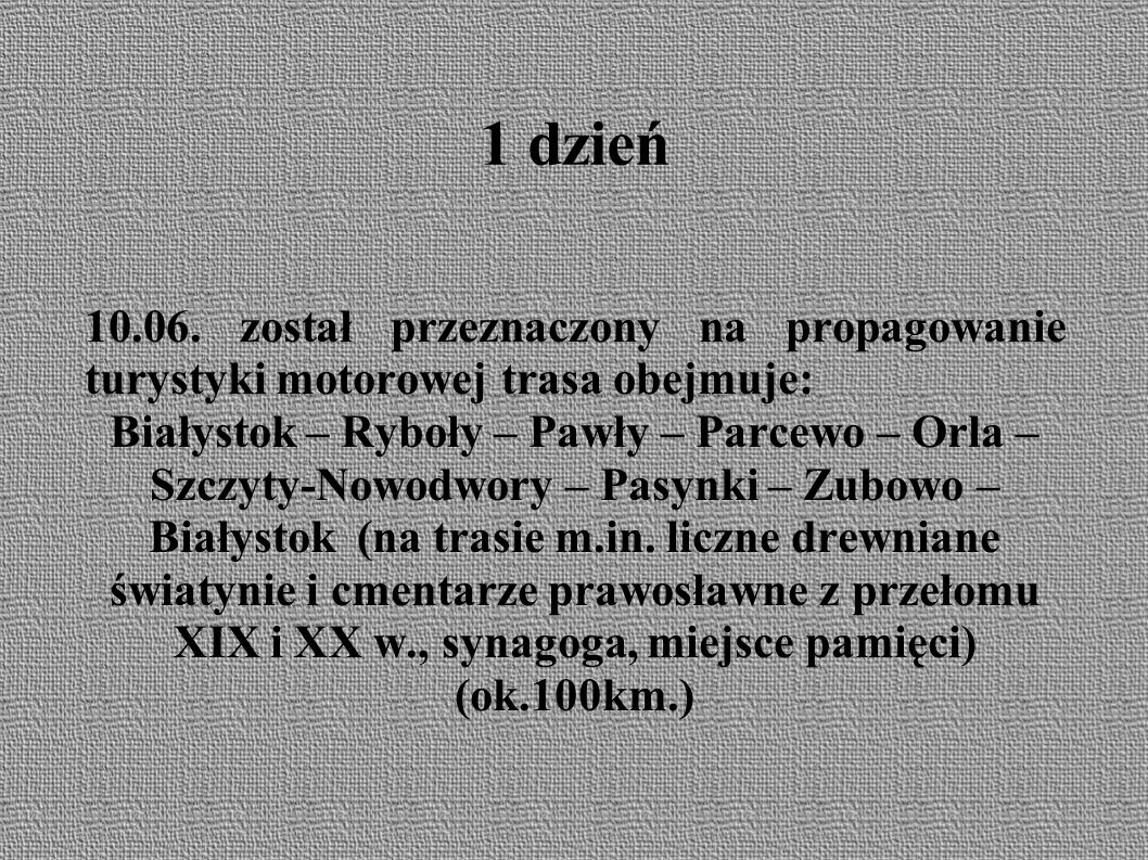 Bielsk Podlaski ● Gorące pozdrowienia dla członków MKT, którzy nie jeżdżą na rajdy własnego klubu.
