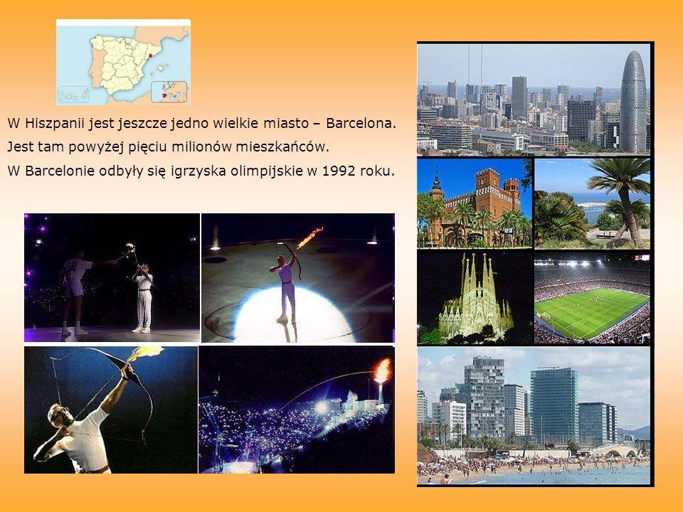 W Hiszpanii jest jeszcze jedno wielkie miasto – Barcelona.