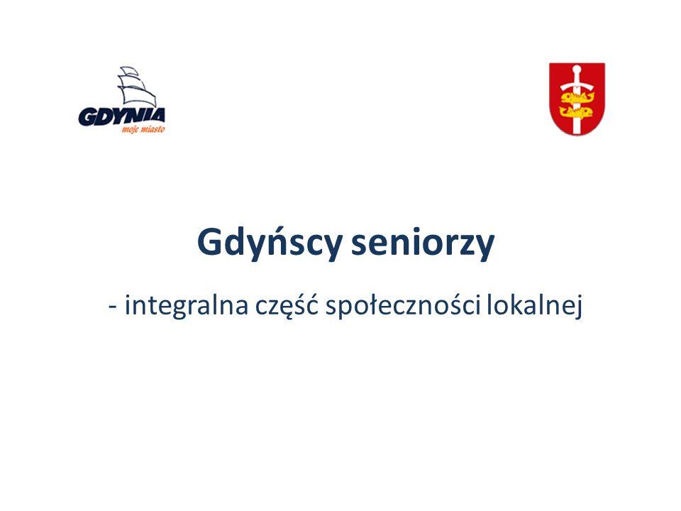 Gdyńscy seniorzy - integralna część społeczności lokalnej