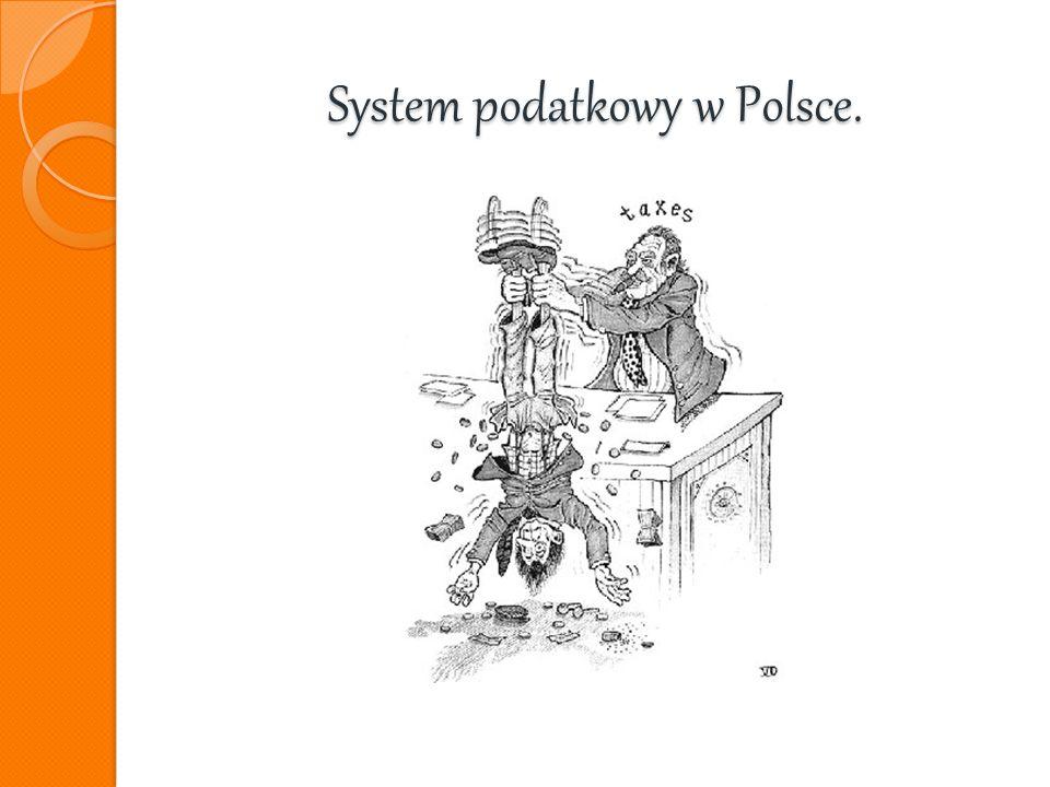 System podatkowy w Polsce.