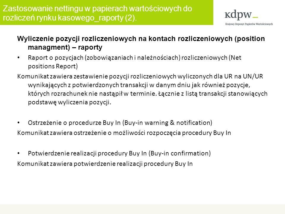 Zastosowanie nettingu w papierach wartościowych do rozliczeń rynku kasowego_raporty (2).
