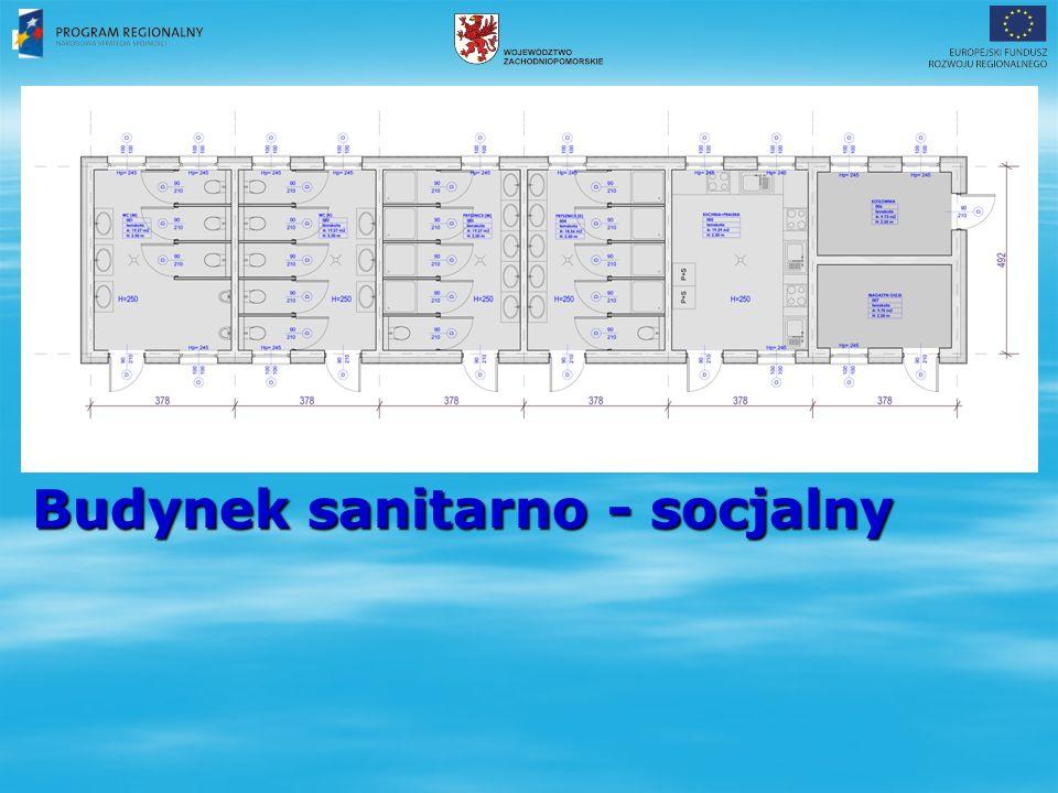 Budynek sanitarno - socjalny