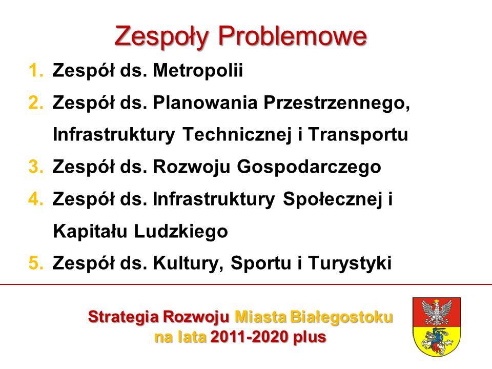 Zespoły Problemowe 1.Zespół ds. Metropolii 2.Zespół ds.