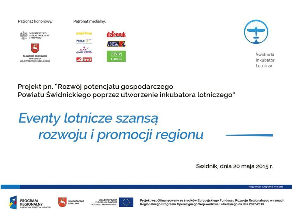 W skali ogólnopolskiej odbywa się corocznie około dwudziestu imprez lotniczych o charakterze pokazów.