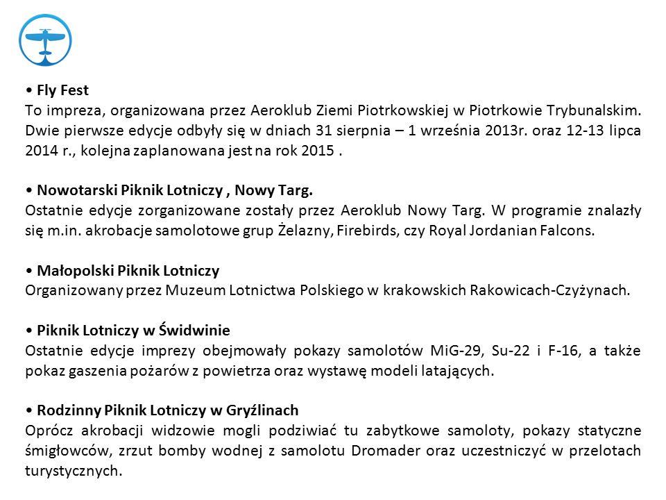 """Festyn Lotniczy """"Lotnisko Bliżej Miasta Festyn odbywa się na lotnisku w Michałkowie."""