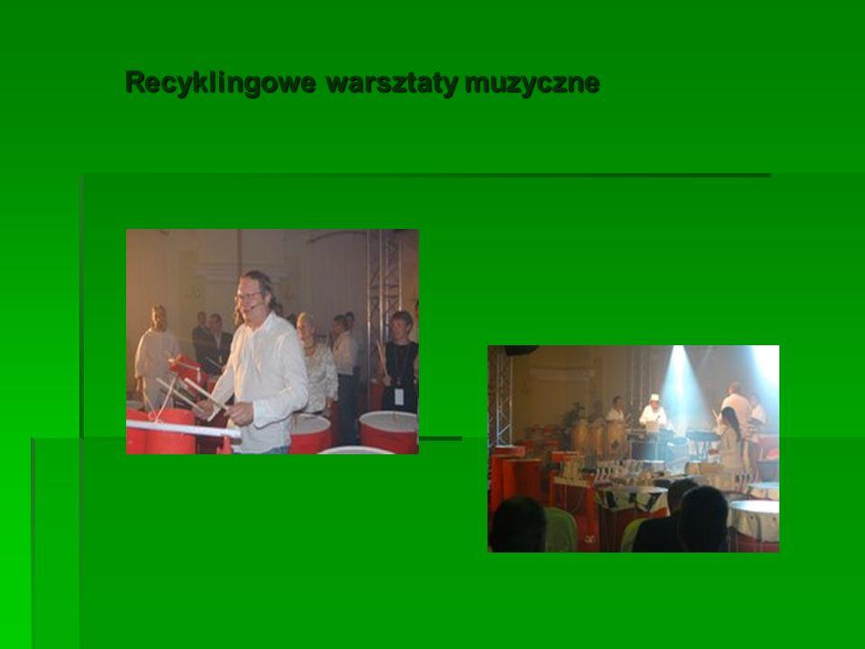 Recyklingowe warsztaty muzyczne Recyklingowe warsztaty muzyczne