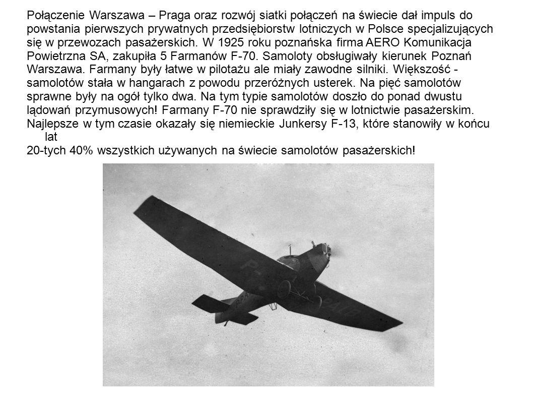 Zaprezentowane na poprzednich fotografiach samoloty były konstrukcji mieszanej.