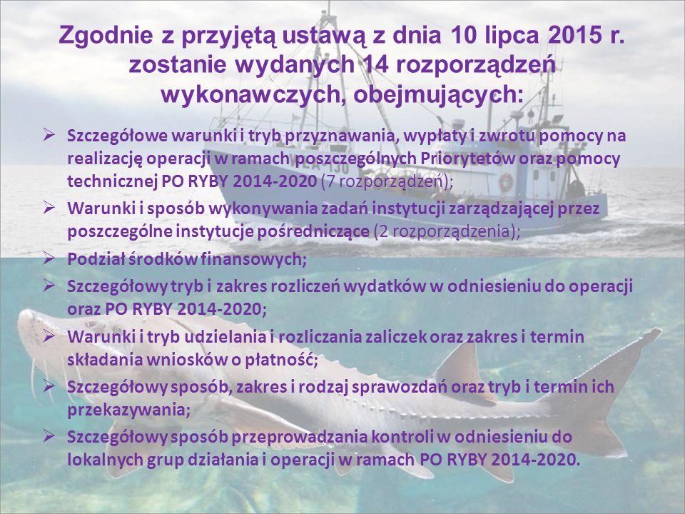Zgodnie z przyjętą ustawą z dnia 10 lipca 2015 r.