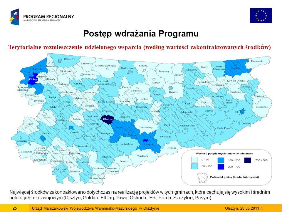 25Urząd Marszałkowski Województwa Warmińsko-Mazurskiego w Olsztynie Olsztyn, 28.06.2011 r.
