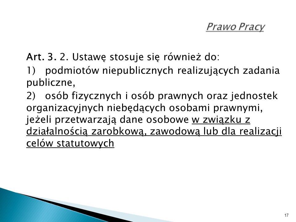 17 Prawo Pracy Art. 3. 2.