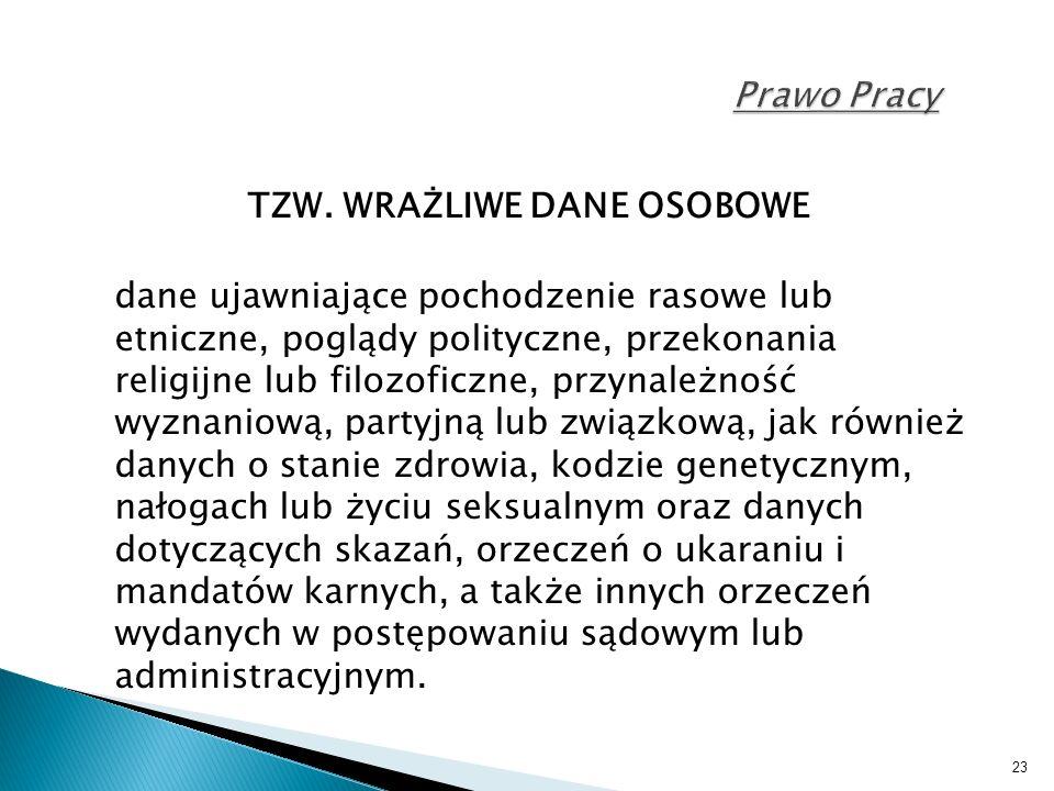 23 Prawo Pracy TZW.