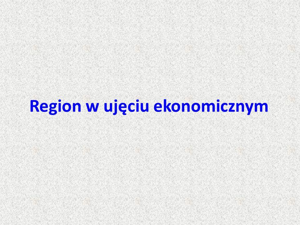 Region w ujęciu ekonomicznym