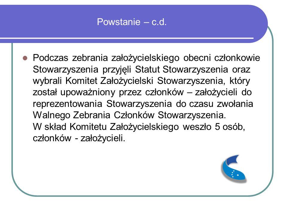 Powstanie – c.d.