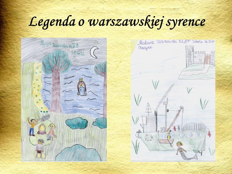 Legenda o warszawskiej syrence