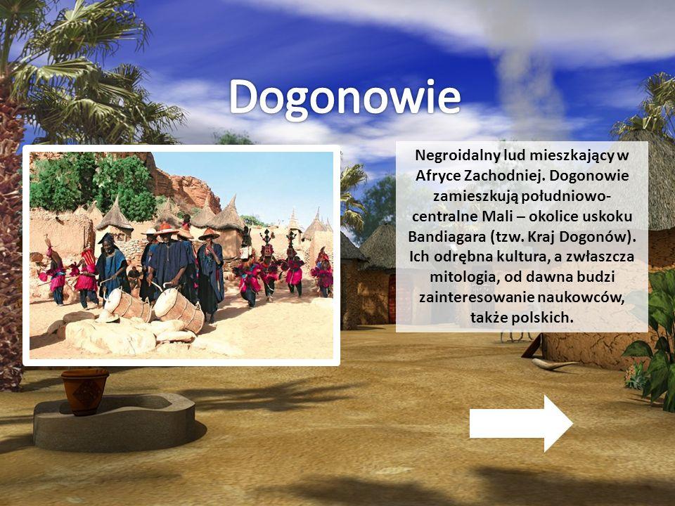 Negroidalny lud mieszkający w Afryce Zachodniej. Dogonowie zamieszkują południowo- centralne Mali – okolice uskoku Bandiagara (tzw. Kraj Dogonów). Ich