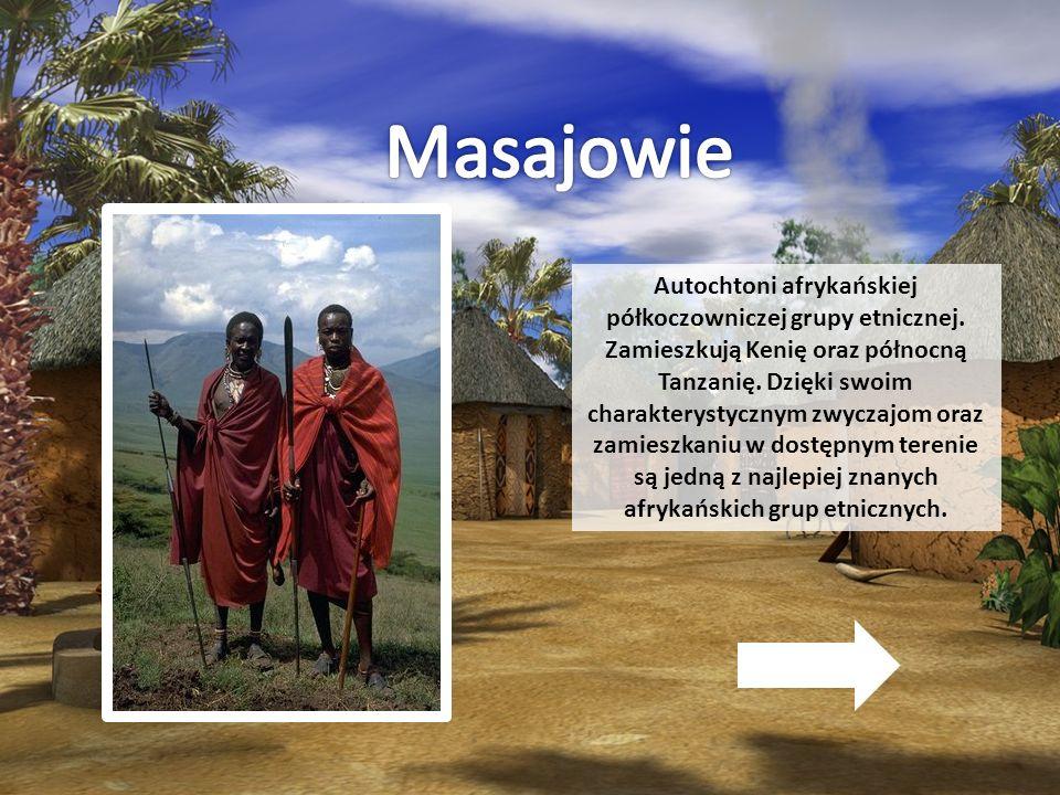 Autochtoni afrykańskiej półkoczowniczej grupy etnicznej. Zamieszkują Kenię oraz północną Tanzanię. Dzięki swoim charakterystycznym zwyczajom oraz zami