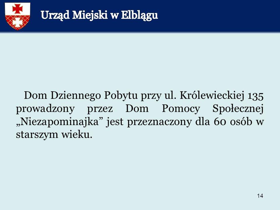 14 Dom Dziennego Pobytu przy ul.